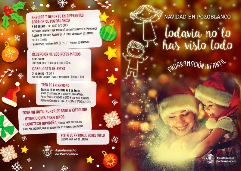 Folleto Navidad Infantil Pozoblanco-1