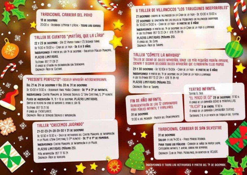 Folleto Navidad Infantil Pozoblanco-2