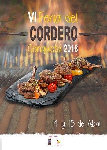conquista-vi-feria-del-cordero-cartel-abril