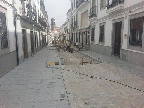 Reformada la calle ram n y cajal de villanueva de c rdoba - El escondite calle villanueva ...