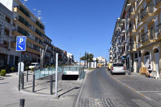 cortado-trafico-avenida-villanueva-cordoba-pozoblanco