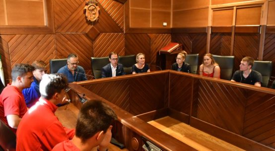 alcalde-pozoblanco-recibe-estudiantes-franceses
