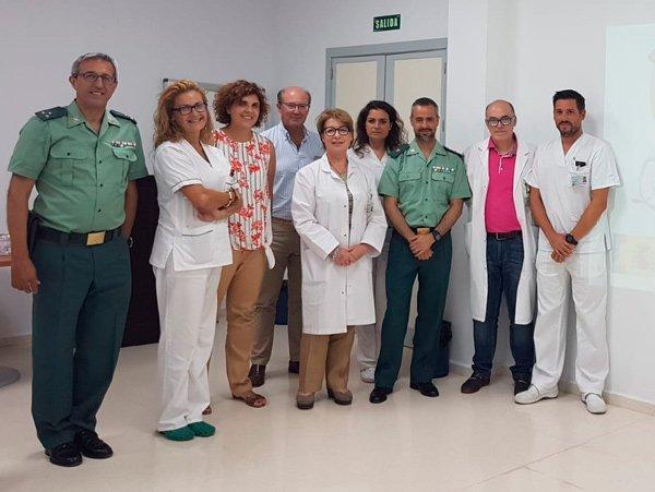 autoridades-policiales-sanitarias-hospital-guadiato-agresion