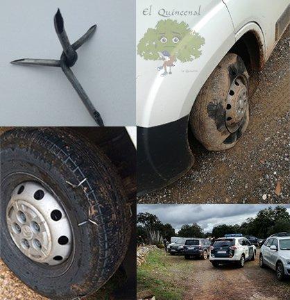 pinchan-ruedas-coches-cazadores-cordoba