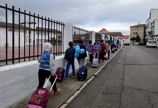 mas-500-escolares-pozoalbenses-concurso-andando-al-cole