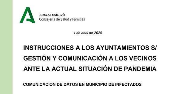 junta-comunica-ayuntamientos-vecinos-afectados-coronavirus