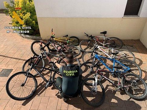 detenido-menor-pozoblanco-robar-8-bicicletas-alta-gama