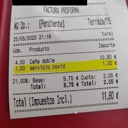 consumo-ilegalidad-cobrar-suplemento-gastos-coronavirus