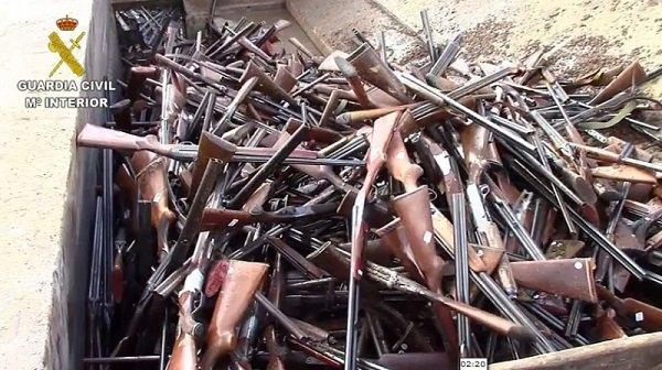 guardia-civil-destruyo-mas-86000-armas-durante-2019