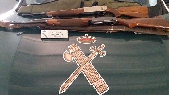 detenidas-dos-personas-por-tenencia-ilicita-de-armas-y-abatir-a-un-ciervo