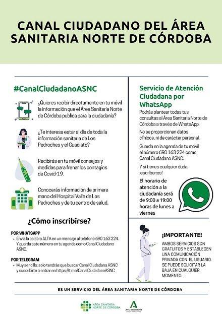 area-sanitaria-norte-abre-canal-informacion-ciudadano-whatsapp-telegram
