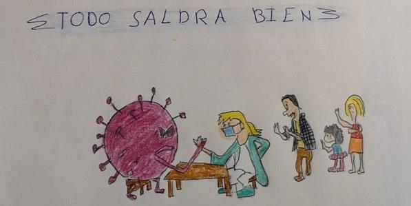 poemas-dibujos-animar-enfermos-de-covid-profesionales-area-sanitaria-norte