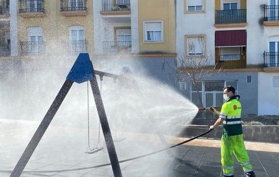 pozoblanco-reabre-parques-infantiles-plan-pintura-desinfeccion