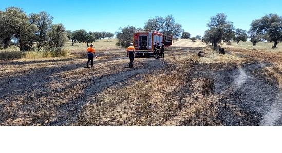 un-incendio-en-terminos-municipales-belalcazar-el-viso-calcina-gran-numero-hectareas-y-cosechadora
